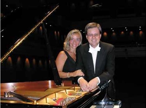 'Montefalco Musica Doc' presenta Roberto Metro ed Elvira Foti nella Cantina Scacciadiavoli.