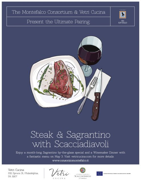 Steak & Sagrantino