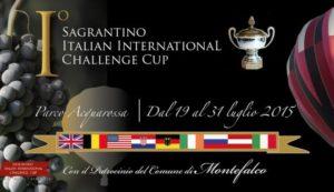 Sagrantino italian international balloon challenge cup