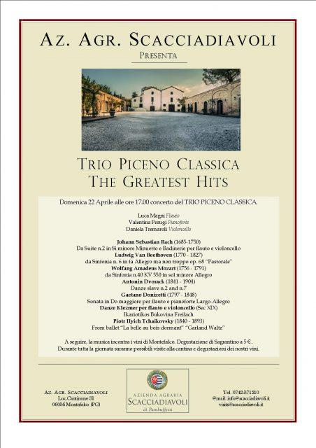 Trio Piceno - Concerto di musica classica in cantina